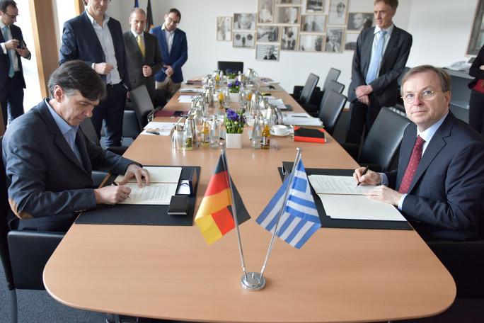 Συμφωνητικό συνεργασίας για την επαγγελματική εκπαίδευση και κατάρτιση Ελλάδα-Γερμανία