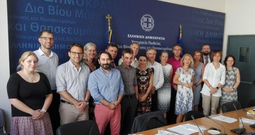 Ελληνογερμανική συνεργασία με θέμα τη διττή επαγγελματική εκπαίδευση