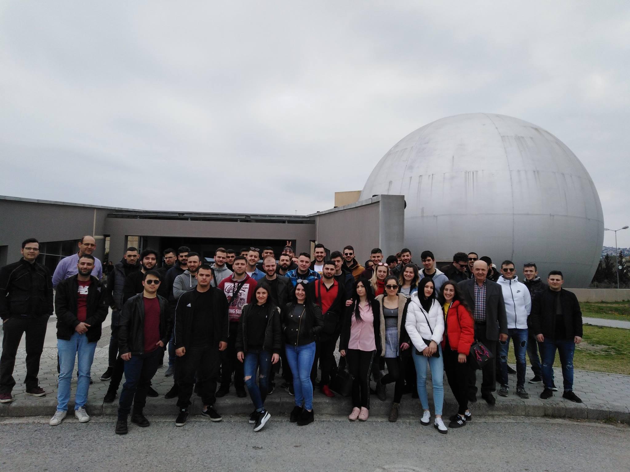 Επίσκεψη μαθητών της Σχολής Διττής Εκπαίδευσης της ΕΕΣΣΤΥ στο τεχνικό Μουσείο Θεσσαλονίκης