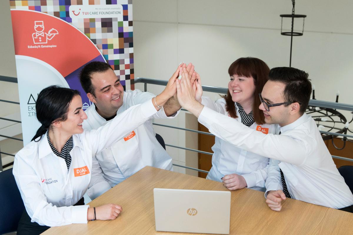 H TUI CARE FOUNDATION ενισχύει τη Διττή Επαγγελματική Εκπαίδευση του Dual Hellas