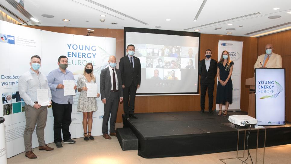 """Πέντε ευρωπαϊκές διακρίσεις """"Energy Scouts"""" 2019 στο πλαίσιο του έργου Young Energy Europe"""