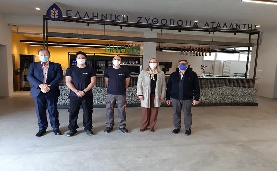Δελτίο Τύπου: Πρόγραμμα Διττής Εκπαίδευσης: Πραγματοποιήθηκαν με επιτυχία οι ενδιάμεσες εξετάσεις  στην Ελληνική Ζυθοποιία Αταλάντης (ΕΖΑ)